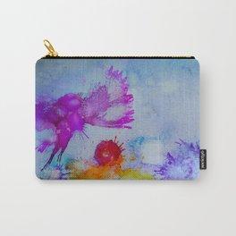 Rainbow Bird Carry-All Pouch