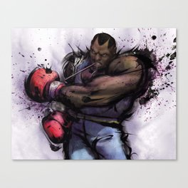 Full Boxing Canvas Print