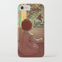bigfoot iPhone & iPod Cases featuring Hello Bigfoot! by Silvio Ledbetter