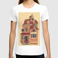 victorian T-shirts featuring Victorian House by Syrupea