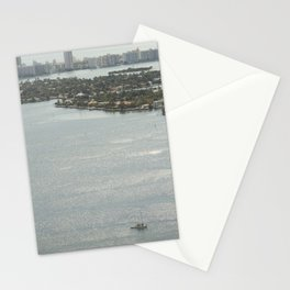 Biscayne Bay Skyline Stationery Cards