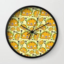 Zombie Taco Wall Clock