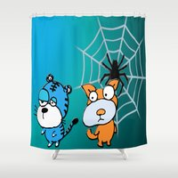 happy birthday Shower Curtains featuring Happy Birthday by LoRo  Art & Pictures