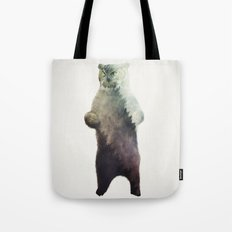 Owlbear in Forest Tote Bag