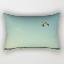 The kite coach Rectangular Pillow