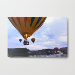 Flying Party Metal Print