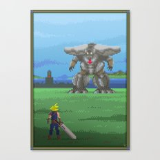 Pixel Art series 13 : The big Canvas Print