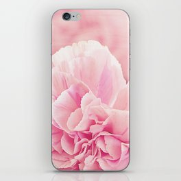 Pale Pink Carnations 2 iPhone Skin