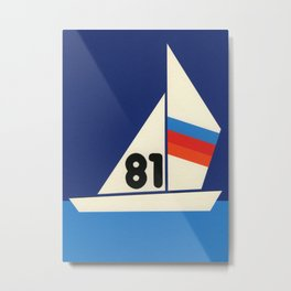 Sailing Regatta 81 Metal Print