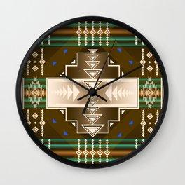 southwest chocolate Wall Clock
