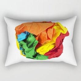 Crumpled paper ball Rectangular Pillow