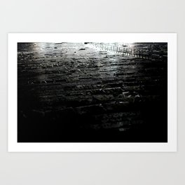 Rained out. Art Print