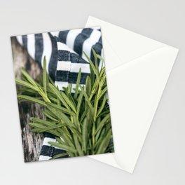 Rosemary Stripe Stationery Cards