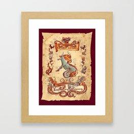 Creaturi Terribilus Framed Art Print