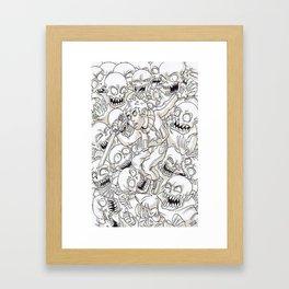 surround Framed Art Print