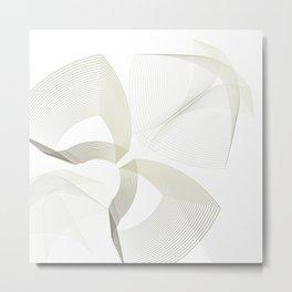 Elegant minimalist illusion Metal Print