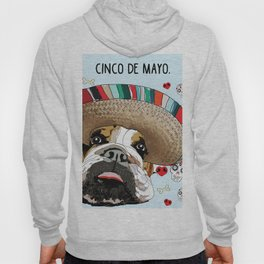 Cinco de Bulldog Hoody