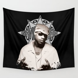 Guru // GangStarr Wall Tapestry