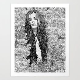 Get Gone Art Print