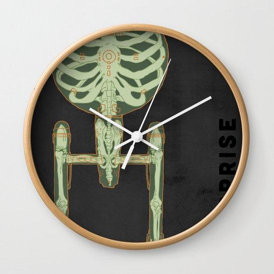 Spaceship Skeletal Survey: The Enterprise Wall Clock