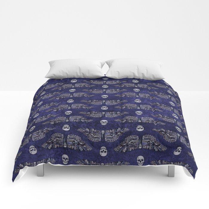Deathshead Moth and Skulls Comforters