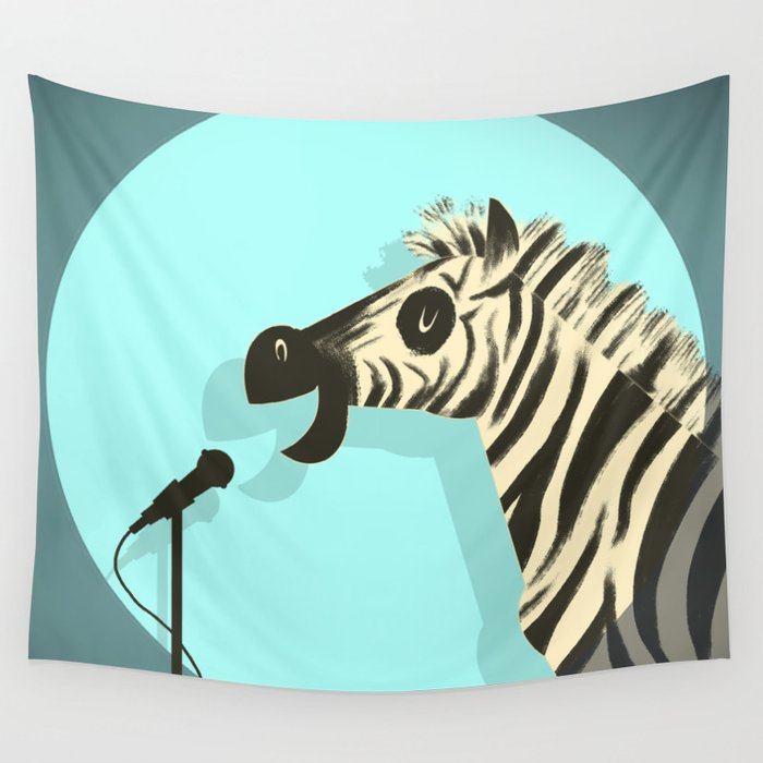 Observational Humor Wall Tapestry