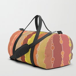 Multi-faceted decorative lines 11 Duffle Bag