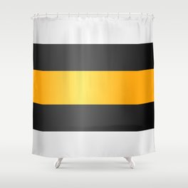 Licorice Allsorts Shower Curtain