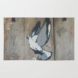 wood pigeon Rug