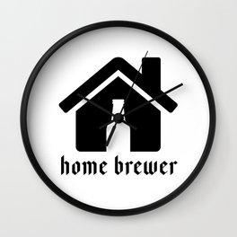 Home Brewer Wall Clock