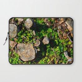 Tree Stumps Laptop Sleeve