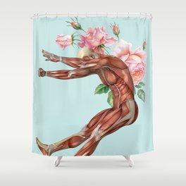 Summer Collage Shower Curtain