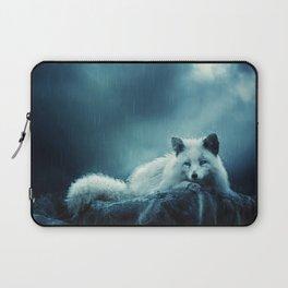 White Fox Laptop Sleeve