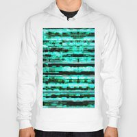 turquoise Hoodies featuring Turquoise by allan redd