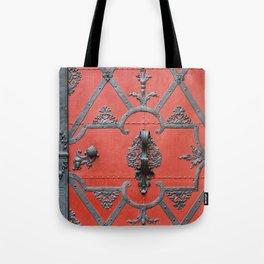 Red Door - Prague, Czech Republic Tote Bag