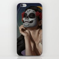 skulls iPhone & iPod Skins featuring Skulls by Joifish