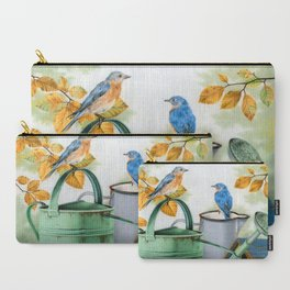 Autumn Visitors Carry-All Pouch