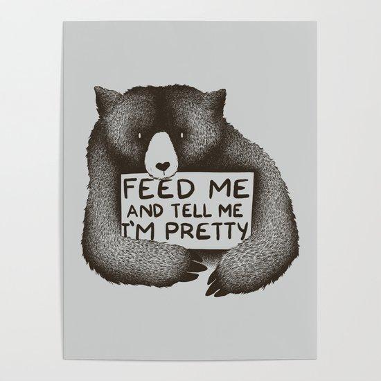 f94c6abf8 I'm Sorry For What I Said When I Was Hungry Poster by tobefonseca | Society6