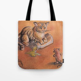 GrimmSeries2 - Cat and mouse Tote Bag