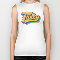 funky Biker Tanks featuring Funky by Roberlan Borges