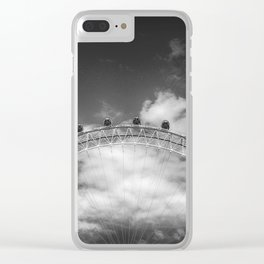 London Eye Clear iPhone Case