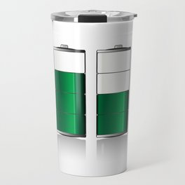 Battery Charge Indicator Travel Mug