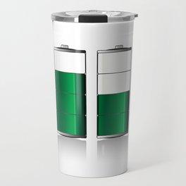 Battery Charge Indicator Travel Mug