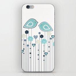 I heart birdies iPhone Skin