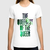 queer T-shirts featuring Garbage - 'Queer' lyrics by Rebecca Houlden