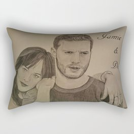 DAKOTA JOHNSON - JAMIE DORNAN Rectangular Pillow