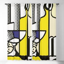roy lichtenstein  Blackout Curtain