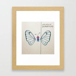 Pokémore Framed Art Print