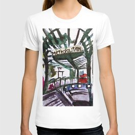Paris Metro Sketch Chatelet T-shirt