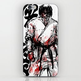 """Fighter in the Wind"" iPhone Skin"